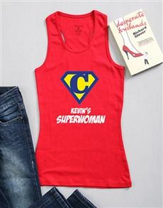 gifts: Personalised His Wonderwoman Shirt!