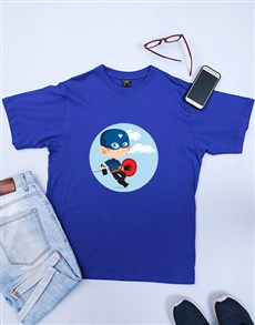 gifts: Personalised Superhero Shirt!