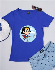gifts: Personalised Superwoman Shirt!