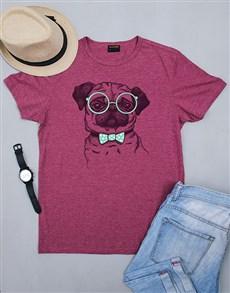 gifts: Personalised Pug Life Shirt!