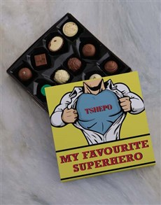 gifts: Personalised Favourite Superhero Chocs!