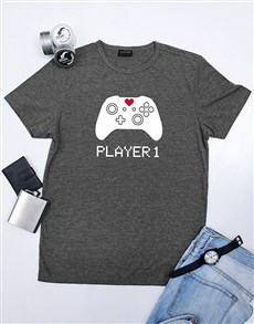 gifts: Personalised Player 1 Shirt!