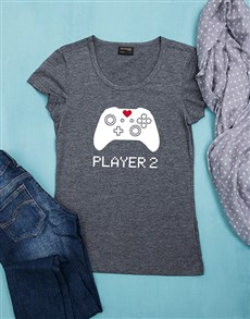 gifts: Personalised Player 2 Shirt!