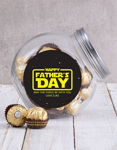 gifts: Personalised Star Wars Candy Jar!
