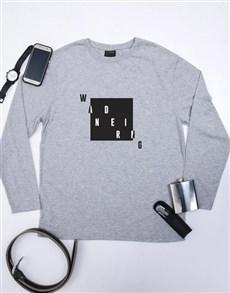 gifts: Personalised Wandering  Longsleeve T Shirt!