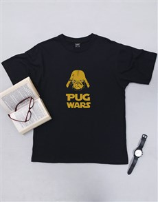 gifts: Personalised Pug Wars T Shirt!