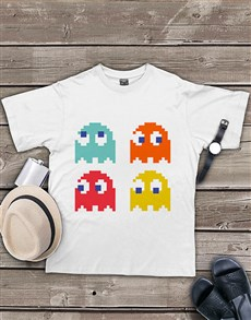 gifts: Personalised Pacman Team T Shirt!