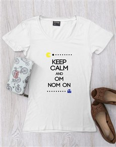 gifts: Personalised Keep Calm Pacman T Shirt!