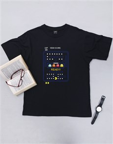 gifts: Personalised Pacman Maze T Shirt!