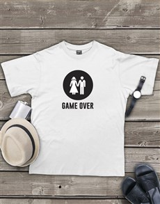 gifts: Personalised Game Over T Shirt!