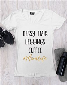 gifts: Personalised Mom Life Shirt!