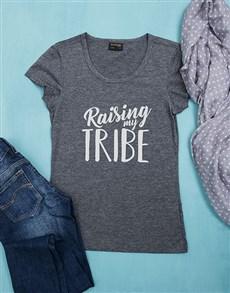 gifts: Personalised Raising My Tribe Shirt!