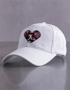 gifts: Personalised Heart Cap!