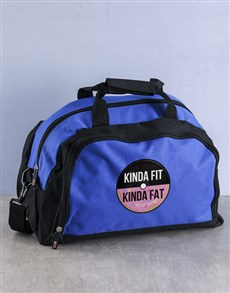 gifts: Personalised FIT(ish) Gym Bag !