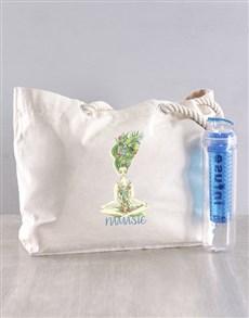 gifts: Personalised Namaste Bag !