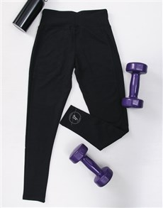 gifts: Personalised Workout Tights With Initials!