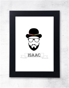 gifts: Personalised Hipster Frame!