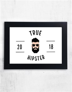 gifts: Personalised True Hipster Frame!