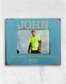 gifts: Personalised Inspire Photo Frame!