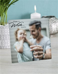 gifts: Personalised Make A Wish Glass Tile!