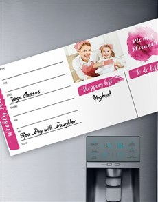 gifts: Mom's Personalised Magnetic Planner!