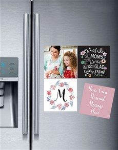 gifts: Personalised Of All the Moms Magnets!