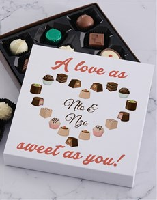 gifts: Personalised Sweet Love Chocolate Box!