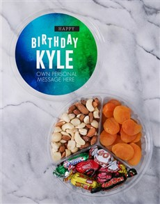 gifts: Personalised Gradient Fruit & Nut Tub!