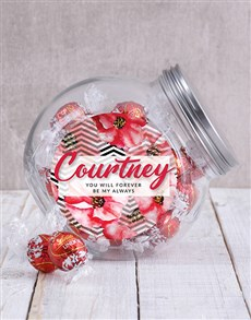 gifts: Personalised Forever and Always Candy Jar!