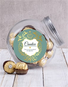 gifts: Personalised Vintage Candy Jar!