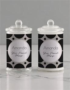 gifts: Personalised Circle Candle Jar!