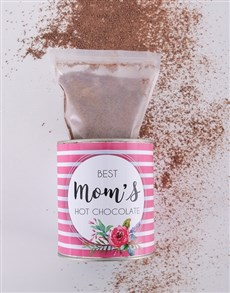 gifts: Personalised Hot Chocolate Tin For Mom!