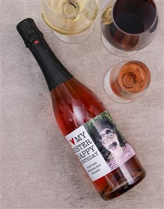gifts: I Heart My Personalised Photo Wine!