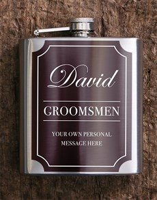 gifts: Personalised Classic Hip Flask!