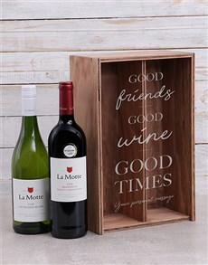 gifts: Personalised Good Times Crate!