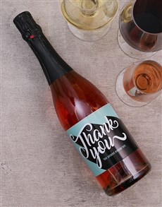 gifts: Personalised Appreciation Wine!