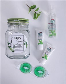 gifts: Personalised Foot Theraphy Jar!