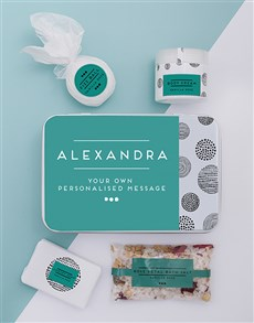gifts: Personalised Bath Spoils Keepsake Box!