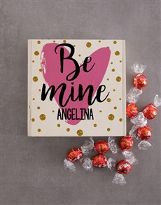 gifts: Personalised Be Mine Keepsake Box!