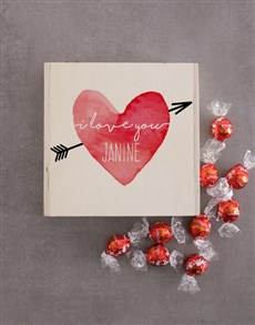 gifts: Personalised Love Heart Keepsake Box!