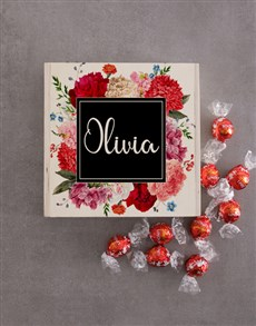 gifts: Personalised Wooden Floral Box!