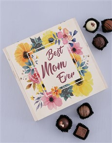 gifts: Personalised Wooden Best Mom Box!