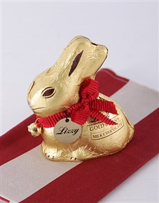 gifts: Personalised Lindt Bunny!