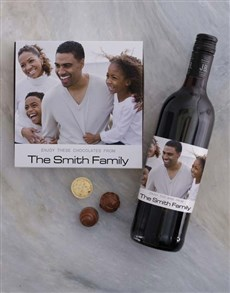 gifts: Personalised Family Photo Choc Tray!