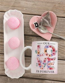 gifts: Personalised Love is Forever Mug!
