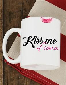 gifts: Personalised Kiss Me Mug!