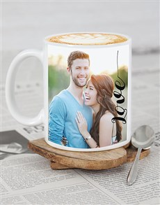 gifts: Personalised Love Photo Mug!