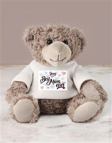 gifts: Personalised Mom Teddy Jersey  !
