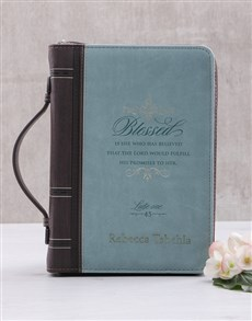 gifts: Personalised Blessed Bible Case!