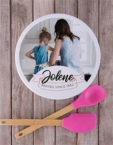 gifts: Personalised Baking Since Cookie Tin!